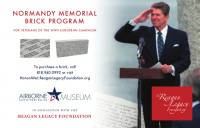 Normandy memorial brick program